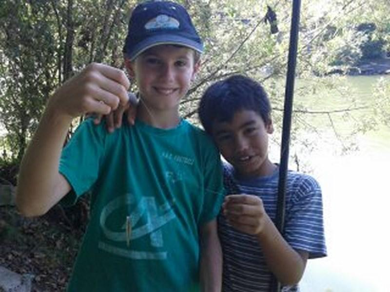 Atelier Pêche Nature Errobi, l'heure du bilan